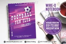 Wire-o Notebook