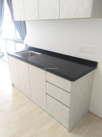 吉隆坡武吉加里尔RENO AURORA 厨房壁橱装修承包商设计参考
