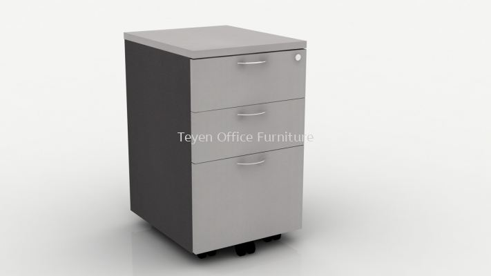 2D+1F Mobile Drawer Pedestal