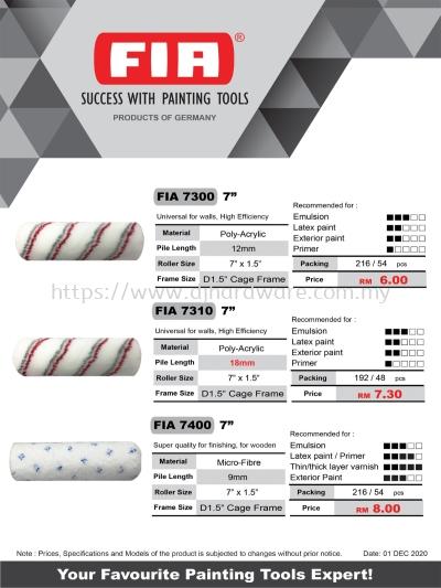 FIA Paint Roller Page 1