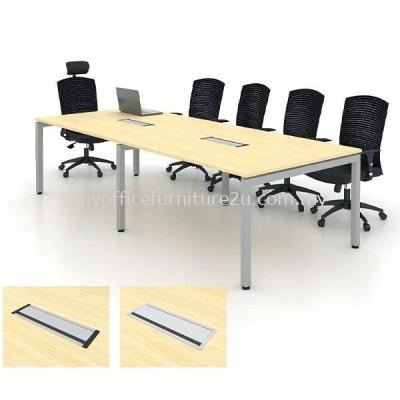 URC3600 U Leg with Rectangular Meeting Table 3600W x 1500D x 750H mm (Maple)