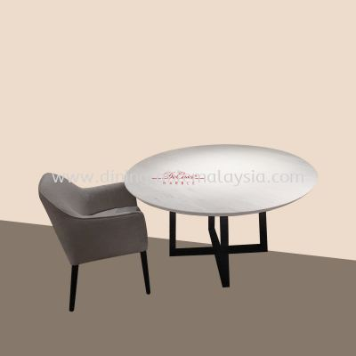 Sivec White | Greece | 6 Seaters | Dining Table only | RM4,399