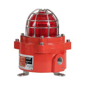 QNE 92mm ATEX, IECEx, CE and KC Marked Explosion Proof LED Signal/ Warning Light/ ATEX Beacon