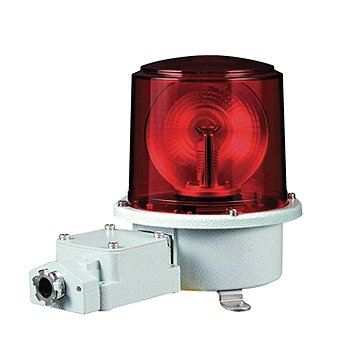 SH2TLR Heavy Duty LED Rotating Signal Beacons for Marine and Heavy Industry Applications Weatherproof Revolving Beacons / Visual Signal Alarms