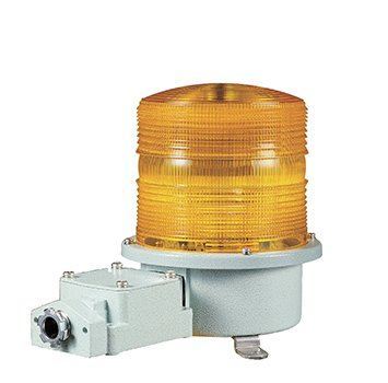 SH2TL Heavy Duty LED Steady/Flashing Signal Beacons for Marine and Heavy Industry Applications Weatherproof Blinking Beacons / Visual Signal Alarms