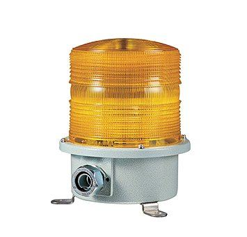 SH2L Heavy Duty LED Steady/Flashing Signal Beacons for Marine and Heavy Industry Applications Weatherproof Blinking Beacons / Visual Signal Alarms