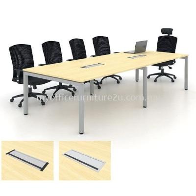 UBC3000 U Leg with Boat Meeting Table 3000W x 1200/900D x 750H mm (Maple)