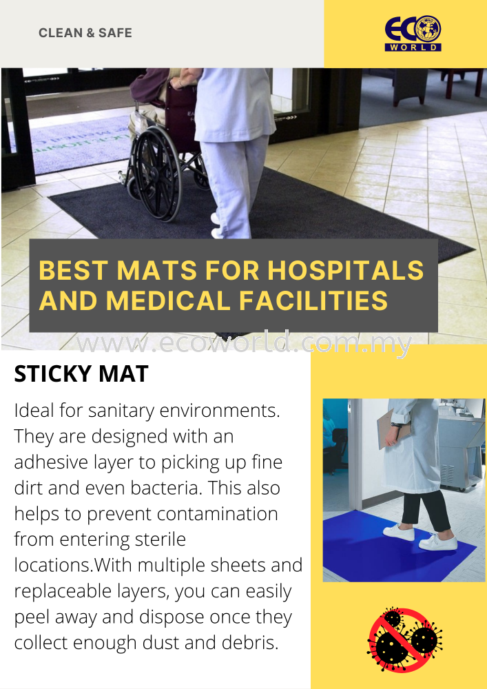 Best mats for hospitals and medical facilities