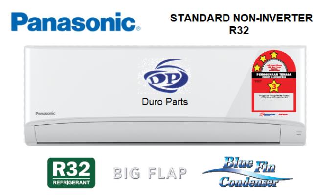 Panasonic 1.0HP Standard Non Inverter Air Conditioner R32 Series CS-PN9WKH