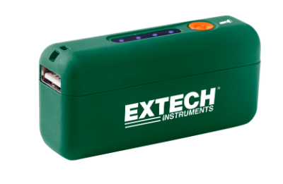 EXTECH PWR5 : Power Bank with Built-In Flashlight