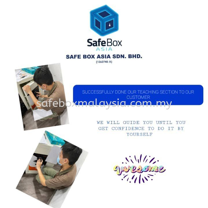 TEACHING ON HOW TO USE THE SAFEBOX
