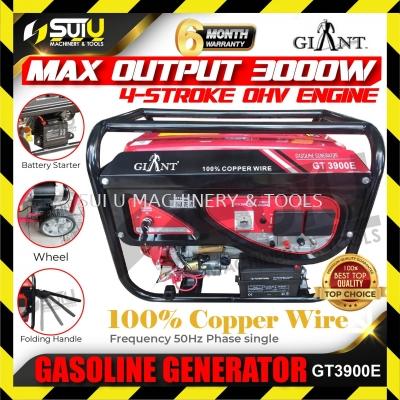 Giant GT3900E Professional Electric Start Gasoline Generator 3000w