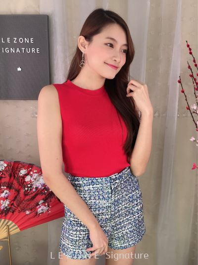 BB6771 Knitting Sleeveless Top