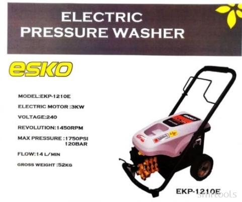 ESKO EKP1210E 3KW 240V 1450RPM 120BAR ELECTRIC PRESSURE WASHER