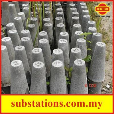 Cement Cable Marker �C Round