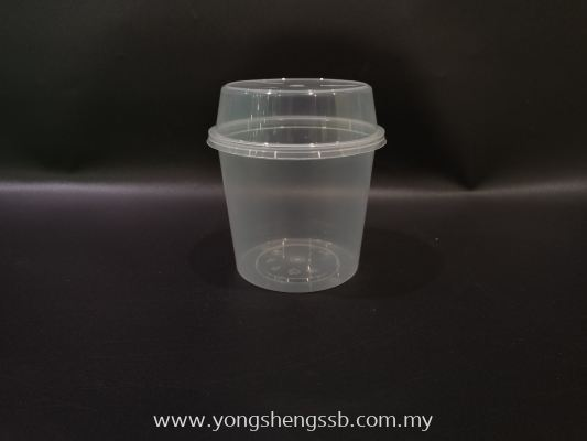MS30 (500PCS/CTN) WITH LID (DOME)