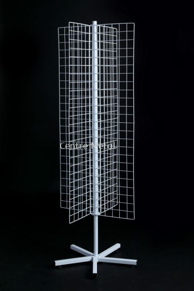 Four Way Netting Stand X