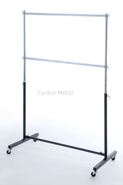 Double Layer Square Bar T-Shirt Stand