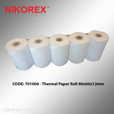 701006 �C Thermal Paper Roll 80x60x12mm