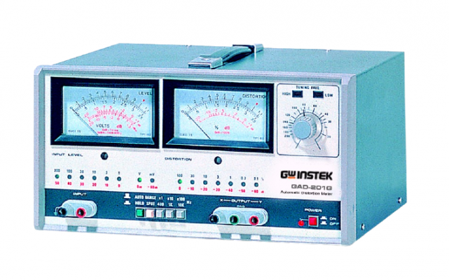 GW INSTEK GAD-201G Automatic Distortion Meter