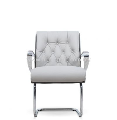 CALEN DIRECTOR VISITOR PU ARM CHAIR C/W CHROME CANTILEVER BASE