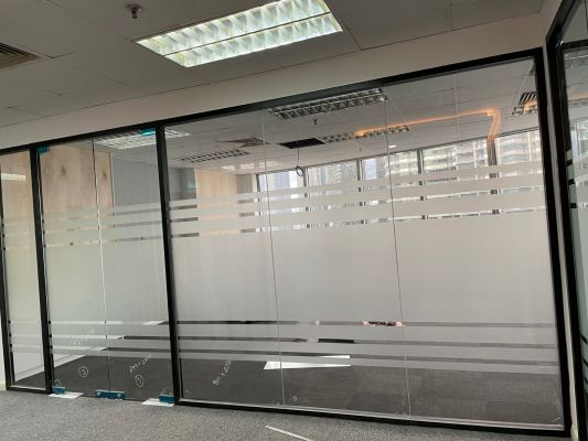 Glass Frosted Sticker