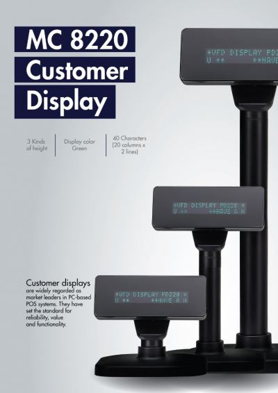 Customer Display MC 8220