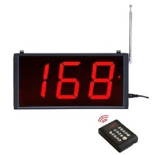 Number Display YL-203 With waterproof Keypad