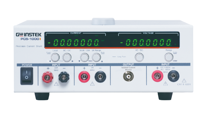 GW INSTEK PCS-1000I Isolated Output High Precision Current Shunt Meter