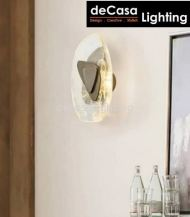 MODERN WALL LIGHT GLASS + METAL 3C LED