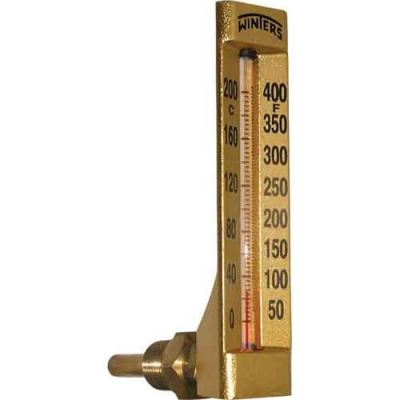 WINTERS TAG HVAC GOLD CASE THERMOMETER