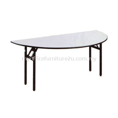 BQH1500 Foldable Half Round Table 1500W x 750D x 760H mm