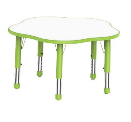 QYY074 Adjustable Flower Shaped Table
