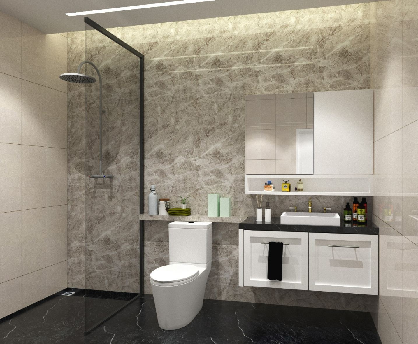Washroom Interior Design Perak Malaysia Ipoh Supplier Suppliers Supply Supplies Home Style Furniture And Trading