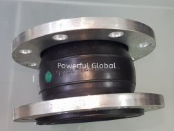 Rubber Single Bellow Expansion Joints with Flanges