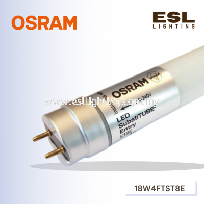 OSRAM LED T8 4FT ST8E 1200mm 18W/865 SubstiTUBE Value