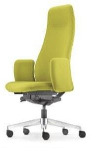 Presidential high back chair AIM6410F(Front view)
