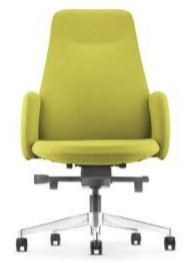 Presidential medium back chair AIM6411F(Front view)