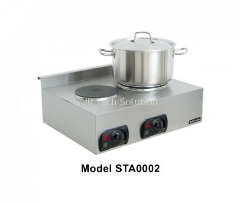 Stove Top Double Plate STA0002