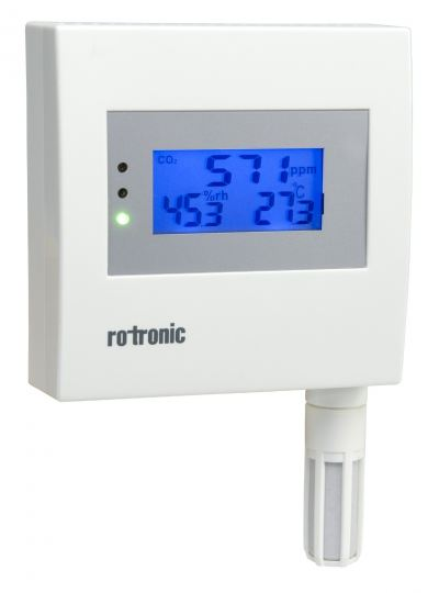 ROTRONIC CF1 - MEASUREMENT TRANSMITTER FOR CO2, HUMIDITY AND TEMPERATURE