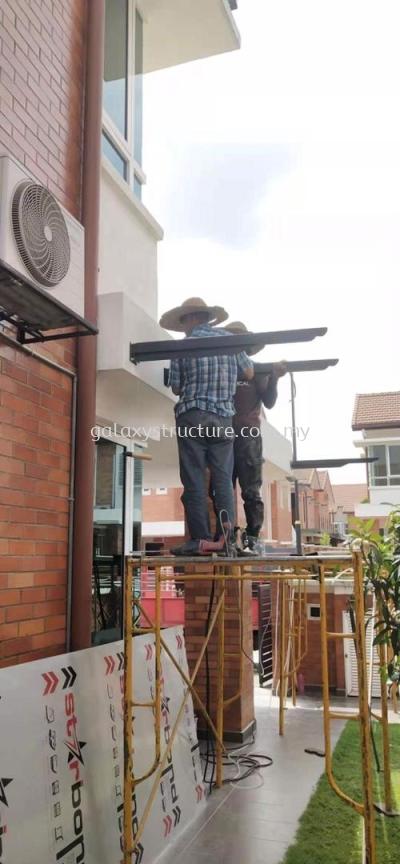 Aluminum Composite Panel @ Jalan SL 17/7, Bandar Sungai Long, 43200 Kajang.