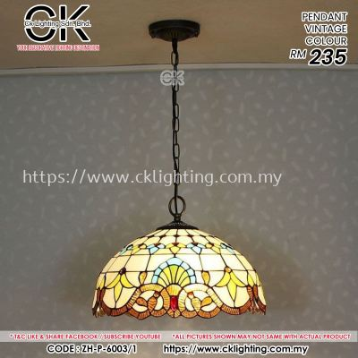 CK LIGHTING PENDANT VINTAGE (P-6003/1 VINTAGE)