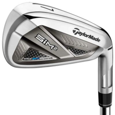 TAYLORMADE SIM 2 MAX TENSEI TM 50 WOMEN GRAPHITE IRON SET 6-9PS