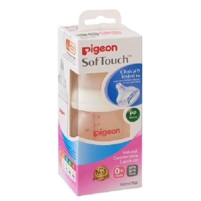 PIGEON - SOFTOUCH WN PP BOTTLE 160ML - PG1008754