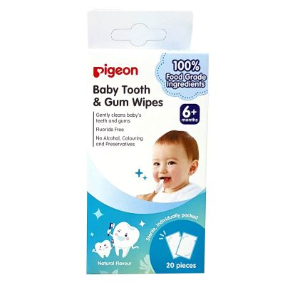 PIGEON - BABY TOOTH & GUM WIPES 6+ MONTHS - PG37782913
