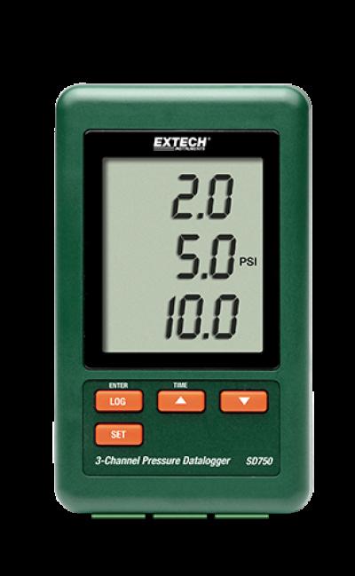 Pressure Meters - Extech SD750