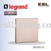 LEGRAND GALION 1 GANG 1 WAY 282400-C1 SINGLE POLE STANDARD 16AX-250V GALION  LEGRAND