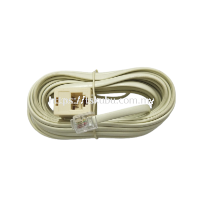 53601520  15FT TEL CABLE (P-S)