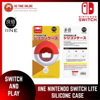 NSW IINE Nintendo Switch Poke Ball Silicone Case