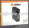 DAHUA AVIO PFS3110-8ET-96 8 POE + 1GE + 1SFP Uplink Unmanaged Switch CCTV